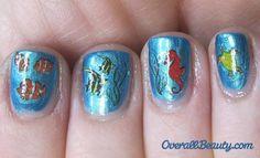 Ocean Life nails