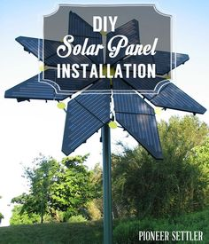 Check out DIY Solar Panel Installation at https://homesteading.com/diy-solar-panel-installation/