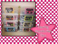 I've Got It Made in Second Grade: Monthly Organization Bins