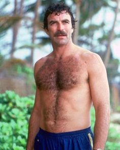 Tom Selleck....giving Clooney a run for his money.