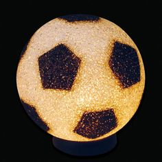 Soccer Ball Crystal Lamp -- Want additional info? Click on the image.