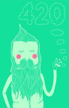 420 by MARÍA JOSÉ TORRERO HEREDIA, via Behance