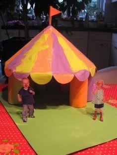 Bricolage enfant thème cirque.