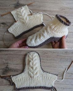 Wool Cable Slippers – Free Knitting Pattern Wool Cable Slippers – Free Knitting Pattern,Knitting Patterns Wool Cable Slippers – Free Knitting Pattern Related posts:Crochet Tutorial: Wiggles & Giggles Baby Blanket - YARNutopia by Nadia. Knitting Patterns Free, Knit Patterns, Free Knitting, Baby Knitting, Beginner Knitting, Pattern Sewing, Blanket Patterns, Vintage Knitting, Crochet Amigurumi