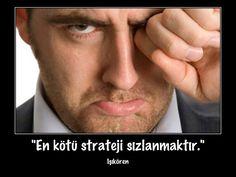 """Motivasyon kartı - 72 """"En kötü strateji nedir?"""""""