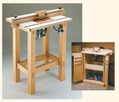 Free Router Table Plans - © Woodsmith