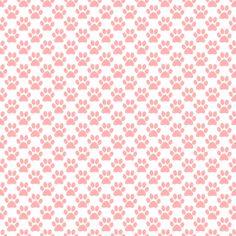Salmon Colored Pawprints On White Background Background Or Wallpaper Image Paw Print Background, Pastel Background, Background Pictures, Background Patterns, Textured Background, Girl Wallpaper, Pattern Wallpaper, Bubble, Paw Patrol Birthday