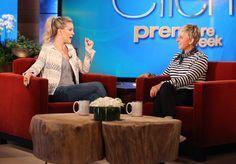 Kate Hudson visits the Ellen DeGeneres Show today at 5! Photo Credit: Michael Rozman/Warner Bros.