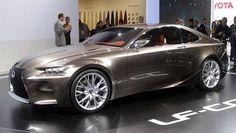 Mobil Lexus LF-CC Akhirnya Diproduksi