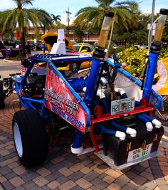 Water powered car / dune buggy. 90% H20, 10% fuel