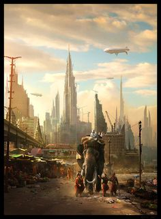 #Art of the Day. Wind Up Girl by Raphael-Lacoste on DeviantArt  Wow...