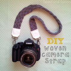 Woven Camera Strap DIY
