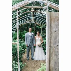 Sometimes we take portraits in outdoor greenhouses and people think we are weird for ignoring the landscaping.  #wedding #bride #pittsburgh #pittsburghwedding #pittsburghweddingphotographer #destinationphotographer #pghwedding #weddingday #burghbride #kry