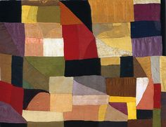 Sonia Delaunay - Patchwork quilt(1911, early abstraction, crossing the borders of traditional artistic disciplines)