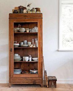 Ceramics cabinet