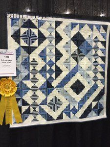 A Long Way From Home by Amy Pabst at QuiltWeek Grand Rapids 2015 Longarm Quilting, Free Motion Quilting, Machine Quilting, Quilting Ideas, Pattern Blocks, Quilt Patterns, Log Cabin Quilts, Log Cabins, Pineapple Quilt
