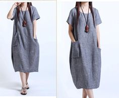 150da74a2a7e6 76 Best Baggy Dress images | Linen dresses, Maxi dresses, Shabby ...