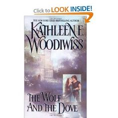 The Wolf and the Dove --- http://www.amazon.com/The-Wolf-Dove-Kathleen-Woodiwiss/dp/0380007789/?tag=isumomof2
