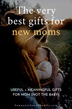 If you really want to help a new mom, skip the flowers and chocolate and get her one of these useful gifts for new mothers. These new mom gift ideas will make a first-time mom feel special and loved. Bonus: No gifts for the baby on this list, and no sad leftovers from the registry. Just the most thoughtful gifts for a new mom. This gift guide has all the best creative and unique gifts for new mothers--from gifts of pampering to sentimental gifts and more. #newmom #mothersdaygift #postpartum Gifts For New Mothers, Gifts For Mom, Mental Support, Unique Gifts, Best Gifts, Postpartum Anxiety, First Time Moms, Sentimental Gifts, Feeling Special