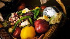 Recette de la vraie salade ni�oise de Jacques M�decin