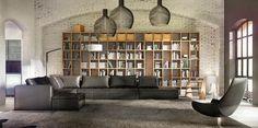 Industrial Decor - Living Room - Design Ideas