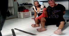 Presos de delegacia se rebelam, espancam dois detentos e tentam fugir