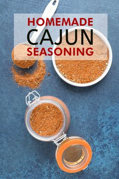 Use this recipe method to make your own Cajun seasoning blend at home from scratch, with your own preferred ingredients. Includes an ingredient chart that you can refer to as well as an extra spicy version that I use. Homemade Chili, Homemade Spices, Homemade Seasonings, Homemade Breads, Homemade Gifts, Cajun Seasoning Recipe, Seasoning Mixes, Spice Blends, Spice Mixes