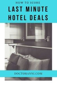 How to score amazing last minute hotel deals! hotel deals, last minute deals, budget travel, hotel apps, travel apps