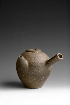 Warren Fredrick. woodfired teapot