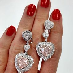 RP @dbsdiamonds #diamond#الماس#elmas#алмаз#ダイヤモンド#fabulous#love#lifestyle#luxury#instacool#instalove#instadaily#instagood#luxurylife#mylove#follow#followme#like#awesome#fashion#adore#beautiful#glam#magic#style#collection#earring#pink#heart