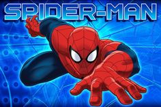 All New Style Disney Marvel Product 17 x 24 inch Memory Foam Mat or 54 x 80 inch Super Soft Area RUG non Slip Backing kids toddler kindermat bath bed living (Spiderman, 17x24 Memory Mat)