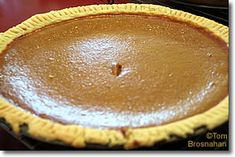 Lactose-free pumpkin pie