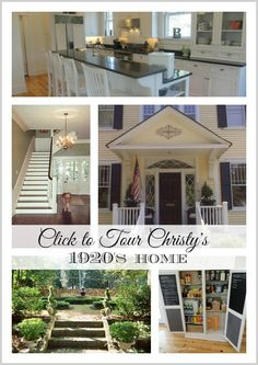 Tour this beautiful 1920's Southern Colonial Revival home.