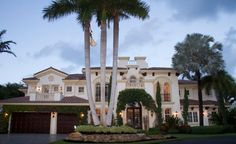 $4.35 Million Waterfront Mediterranean Home In Boca Raton, FL