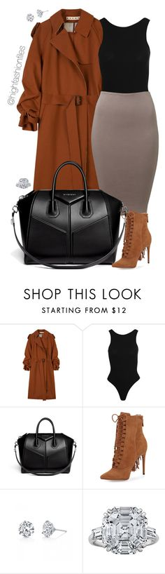 """""""Timeless"""" by highfashionfiles ❤ liked on Polyvore featuring Marni, New Look, Givenchy, Alexandre Birman and Harry Kotlar"""
