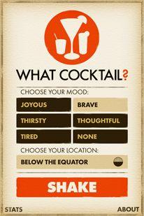 what cocktail? #digitaldesign #design #app
