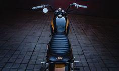 Honda CB400N Brat Style - JeriKan Motorcycles. Una Brat Style con un rollo vintage y elegante que te hará soñar con ella. Entra y descubre esta Honda CB400N