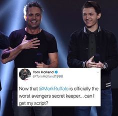 For anyone wondering what this is about - Mark Ruffalo accidentally left his phone on in his pocket and snapchatted the new Thor movie during the premiere.