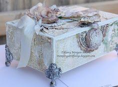 Tiffanys Paper Designs: Altered cigar box