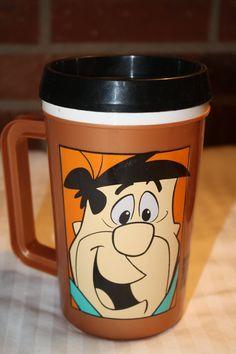 Jumbo Fred Flinstone Yaba Daba Doo Coffee Mug