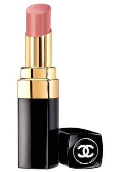 Nude Lips Chanel ROuge Coco Shine ~ Hottest Lipsticks For Fall - Harper's BAZAAR