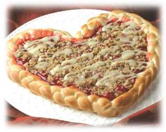 A Sweet Heart Shaped food for a special Valentine's Day. See more heart-shaped food for #ValentinesDay #bred