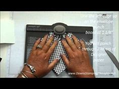 Envelope Punch Board Match box video .Make this adorable match box using the envelop punch board . check out todays video .