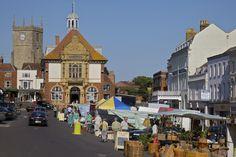 Marlborough Market in Marlborough, Wiltshire