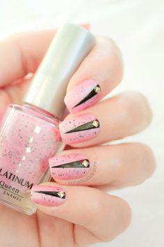 Pink Matte Nails.
