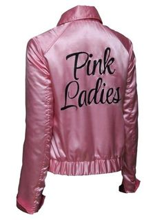 Pink Ladies Grease Live Satin Womens Jacket L ** Check this awesome product by going to the link at the image. Pink Ladies Halloween Costumes, Pink Lady Costume, Fancy Costumes, Costumes For Women, Purple Halloween, Halloween Makeup, Grease Party Costume, Grease Live, Grease 2