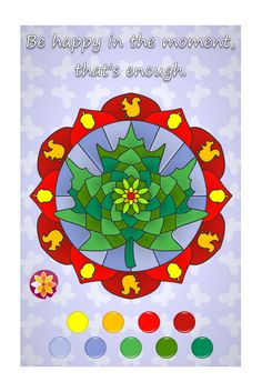 Tips & Tricks for color combinations for the Flower Mandala ...
