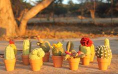 cactus amigurumi hecho a mano 100% algodón