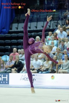 Olena DIACHENKO (Ukraine)🇺🇦 ~ Ball @ World Challenge Cup Minsk 05-06/08/'17🇧🇾 🍀🍀 Photographer 🇧🇾Pawel S.