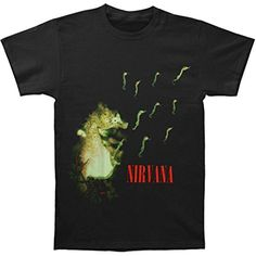 Nirvana Men's Seahorse Slim Fit T-shirt XX-Large Black